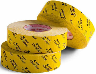 "Kappler ChemTape Chemical Hazmat Resistant, Yellow 2"" x 60yd NBC 99402YW prepper"