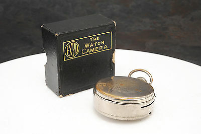 - Vintage Expo Subminiature Camera- Pocket Watch Design