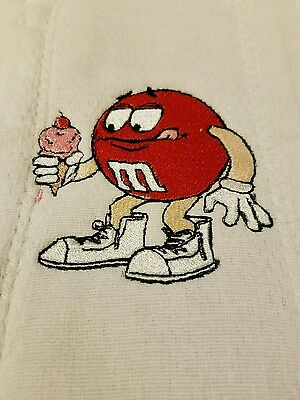 Baby Personalized Burp Cloth M & M