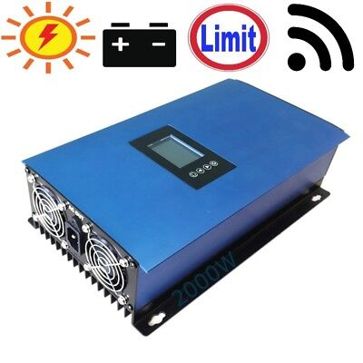 2000W Solar on Grid Tie Inverter Limit for PV Panels Battery Home SUN 2000G TIL