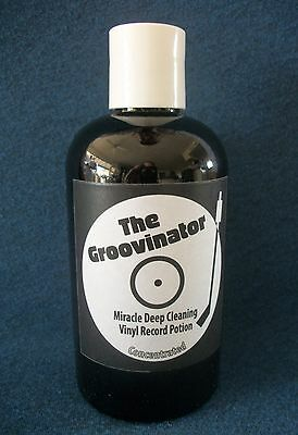 The Groovinator Record Vinyl Lp Cleaning Solution Concentrated Cleaner 78s 45s