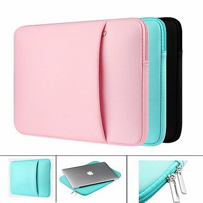 Laptop Sleeve Pouch Cases Bag for Macbook Notebook Air Pro 11/12/13/15/15.6 inch