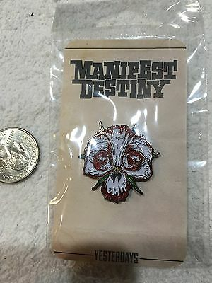 Manifest Destiny Lapel Pin Free Shipping in USA