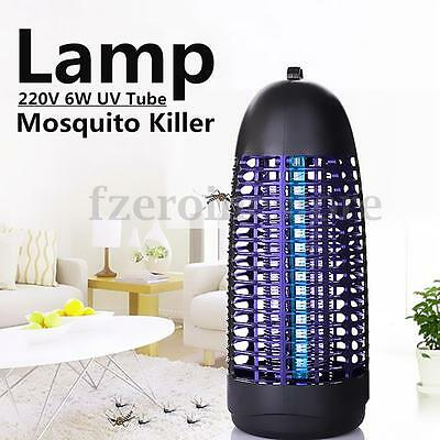 220V 6W Electric Light Mosquito Killer Light Fly Bug Insect Zapper Catcher Lamp