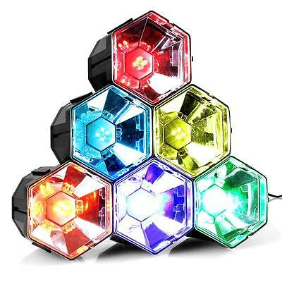 Disco Pyramid Music Active Led Stage Lighting Club Dj Party Disco Lights Effect