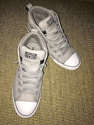 Perfect Condition All Star Converse Runners Shoe Original Size US 9 Grey Colour