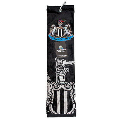 Newcastle United Tri-Fold Golf Towel - Official Product