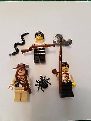Lego mini Figures People characters Explorers or discovery