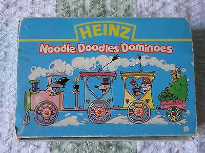 Retro Collectable Advertising Heinz Noodle Doodles Game Dominoes Boxed