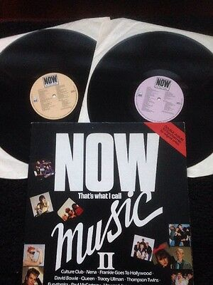 Now That's What I Call Music II (Vol 2) 2 x Vinyl LP Gatefold Sleeve EMI NOW 2