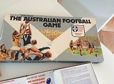 Afl Vfl Mega Rare 1979 Board Game - The Australian Football Game - Complete