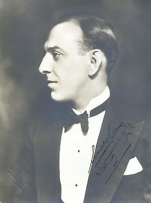 "HARTLEY POWER (""Dead of Night"") Hand-signed 1930s 7""x5.25"" portrait"