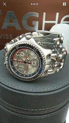 Brand new Tag Heuer West McLaren Mercedes F1 SEL chronograph. Limited edition