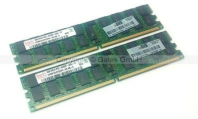 8 GB Kit (2x 4 GB) DDR2 PC2-6400P ECC Reg. Original HP  497767-B21