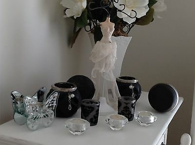 Elegant French Provinial Style Assortment Of Home Decor Items