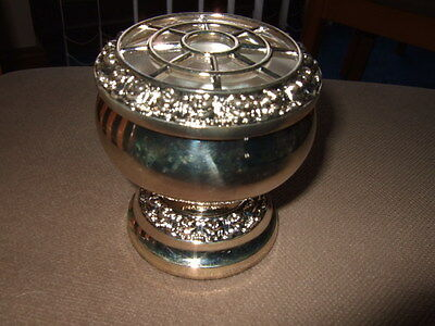 Silver Plate Posy Bowl - Lanthe of England