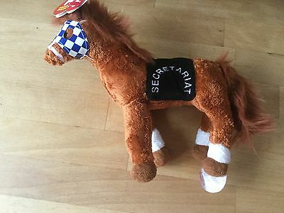 Ty beanie race horse Secretariat new with tags