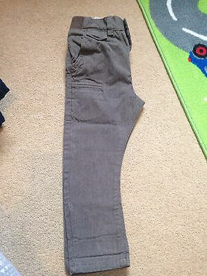 Next Boys 1.5 To 2 Years Trousers Brown