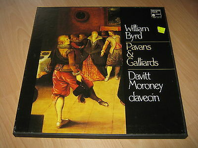 2 Vinyl LP: William Byrd, Pavans & Galliards, Davitt Moroney