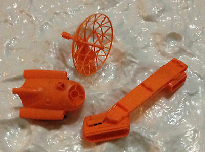 R&l 1969 Cereal Toys Space Age ~ Lot Of Three ~ Radar, Vehicle, Transporter