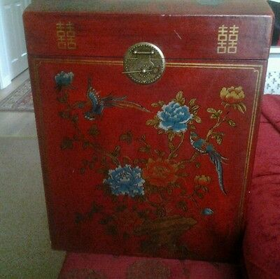 Antique style  Chinese storage trunk/chest