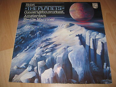 Vinyl LP: Holst, The Planets, Neville Marriner