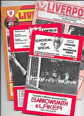 12 Various Liverpool Home Football Programmes Listed