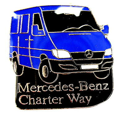 "AUTO Pin / Pins - MERCEDES BENZ  / TRUCK CHARTER WAY ""SPRINTER"" [1158]"