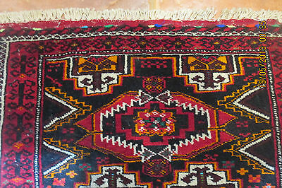ANTIQUE AUTHENTIC WOOL HANDMADE HAND KNOTTED  PERSIAN RUG carpet
