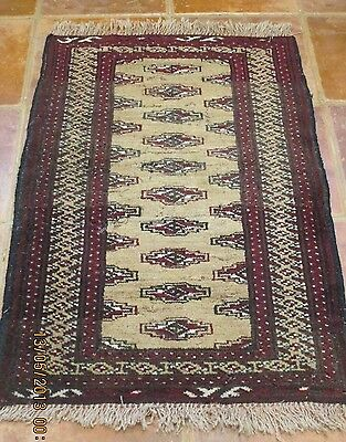 ANTIQUE AUTHENTIC WOOL HANDMADE HAND KNOTTED  PERSIAN RUG carpet RUNNER
