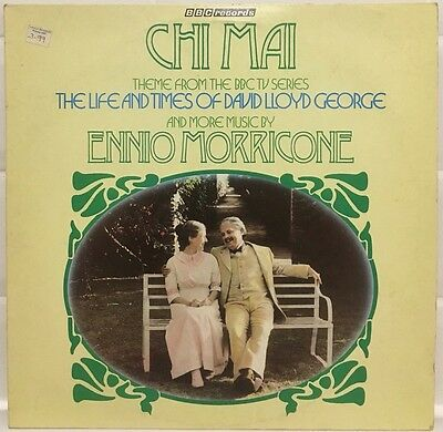 """Ennio Morricone """"Chi Mai"""" And Other Themes 1981 Vinyl LP BBC Records REH 414"""