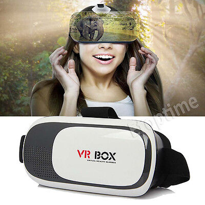 Hot 2nd Generation Headset Virtual Reality 3D VR BOX Glasses For Android&IOS#005