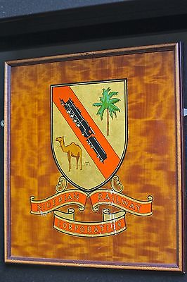 Mid-Century Coat of Arms for Nigerian Railway Board c 1950s / 20th Century