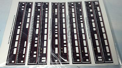 Electra Railway Graphics - The Royal Train - stick on vinyl sides for 8 coaches