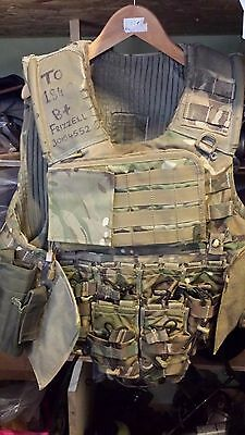 Complete British Army Body Armour With Accessories size 180/104