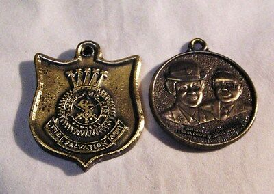 Salvation Army - TWO MEDALLIONS -