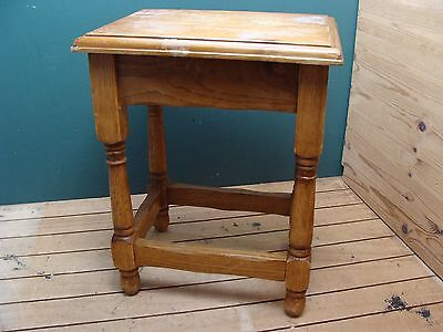 Small Solid Wood End/Side Table *Collection Only*