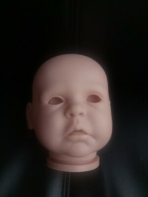 Reborn Doll Head Only Gracie X Anne Tinnerman