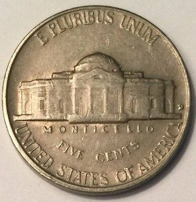 1961-D U.S.A Jefferson Nickel 5 Cents coin