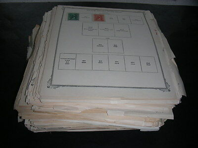 WW, Excellent Accumulation of  5000+ OLD Stamps hinged on remainder pages