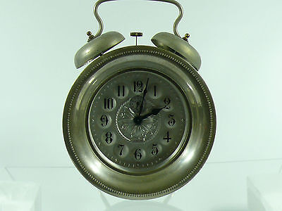 Vintage Alarm Clock Europa Very Collectible Item, Large, Hand Winding