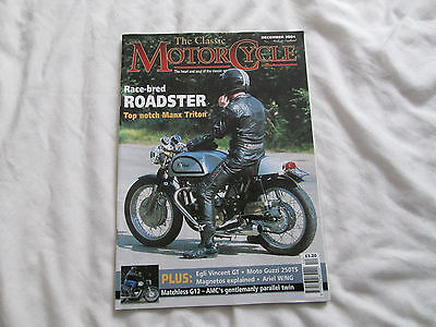 The Classic Motorcycle magazine, December 2004.