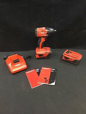 "Hilti SID 18-A 18-Volt 21.6V 1/4"" Hex Cordless Impact Driver *Works Great"