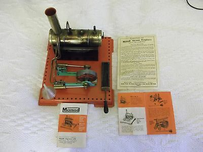 MAMOD LIVE STEAM SE3 TWIN CYLINDER STEAM ENGINE BOXED and FULLY WORKING