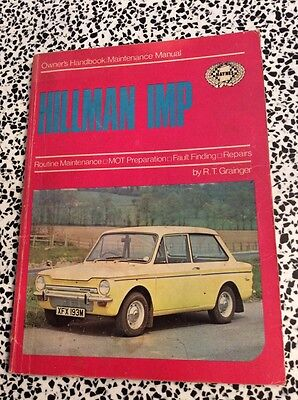 Hillman Imp 1963-1971 Haynes Owners & Maintenance Manual Used Condition Free P&p