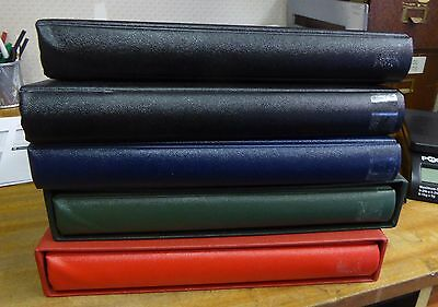 SAFE Cover Albums x 5 - 2nd Hand - All multi-ring