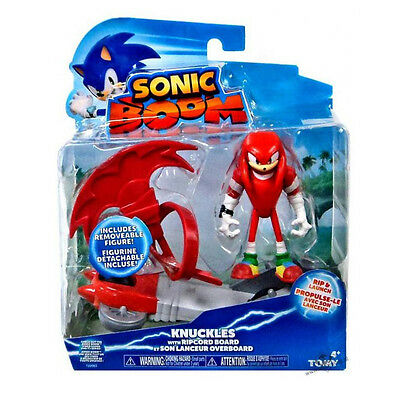 Sonic Boom - Knuckles Figure with Ripcord Board  *BRAND NEW*
