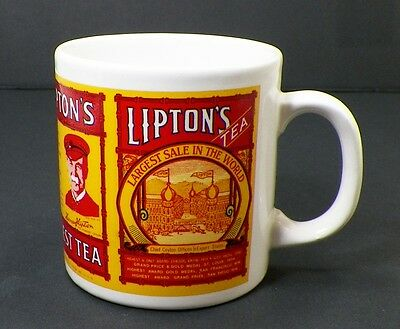 Lipton Tea Retro Design Mug Coffee Cup
