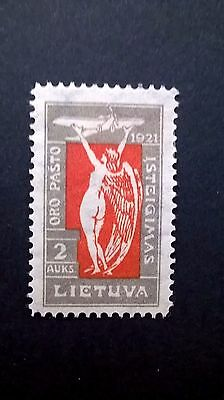 1921 Lithuanian Airmail stamp