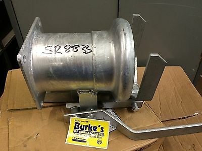 """Slurry Tanker Bolt On Flange Quick Coupler 6"""" Perrot Type To Fit Most Makes"""